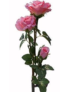 Solaration8482; Solar Pink Rose Flower Lights Outdoor Decorative Lights  Year-round, Great Gift