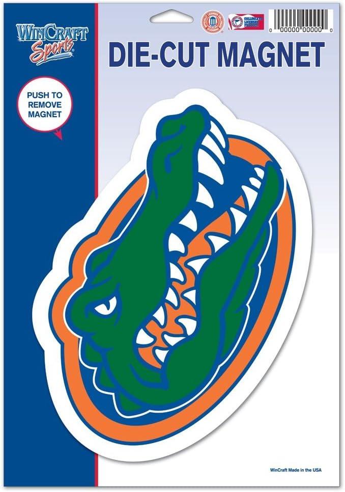 University of 81500012 University of Florida Die Cut Logo Magnet WinCraft NCAA Florida Black Small