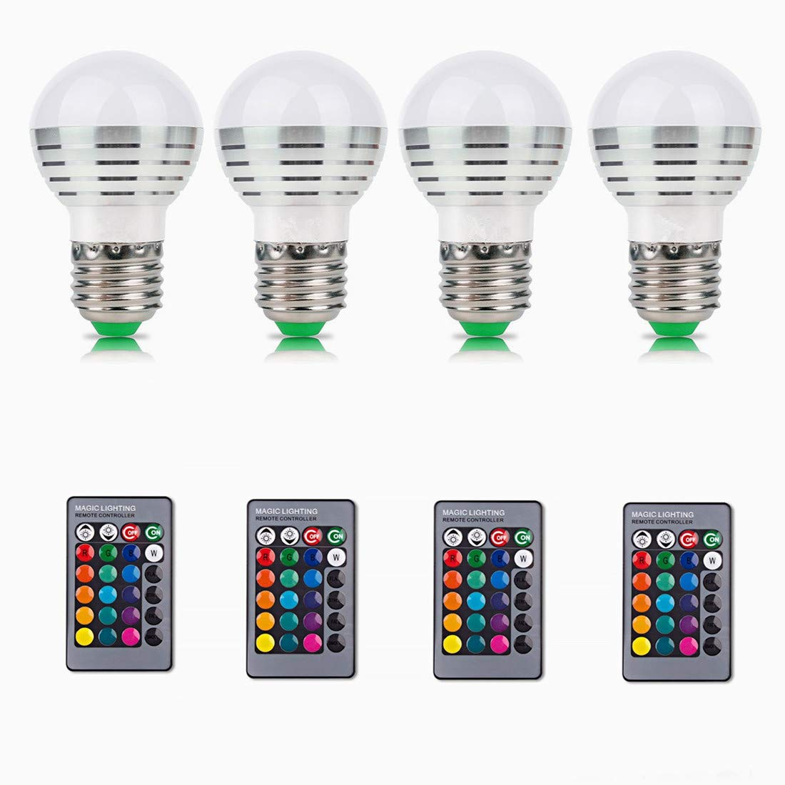 Cool color changing led bulb