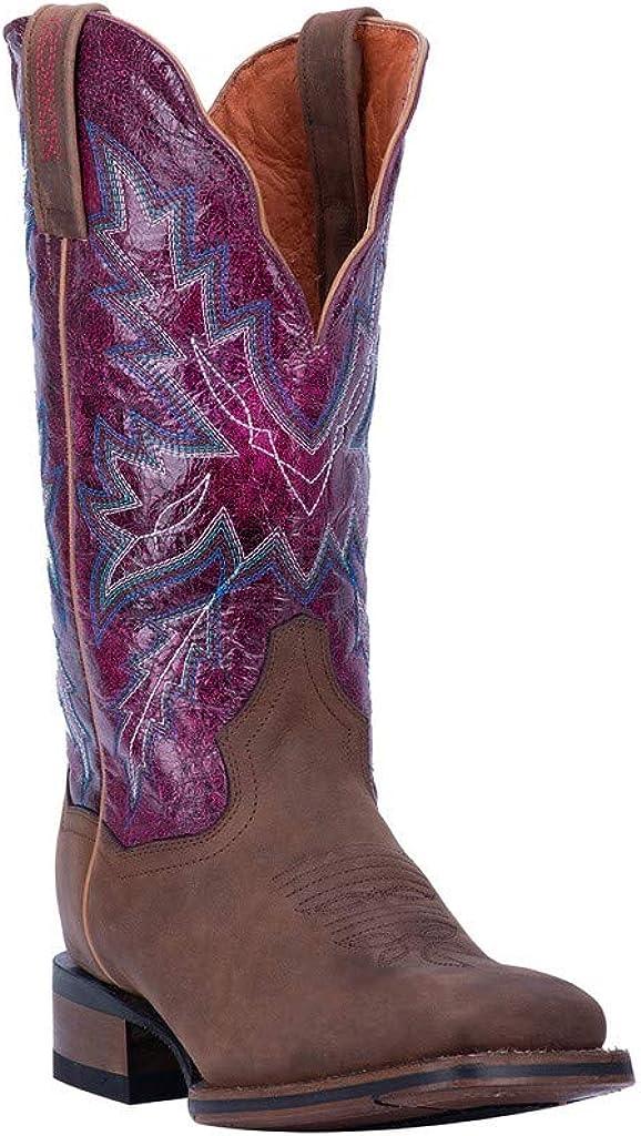 Dan Post Women's Pasadena Western Boot Wide Square Toe