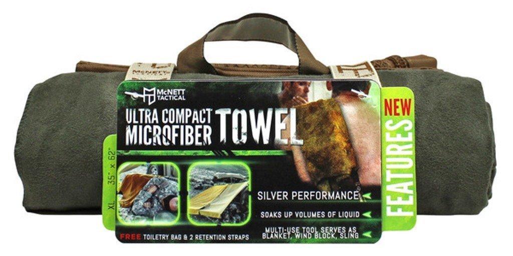 McNett t/áctica Ultra-compacta Toalla de Microfibra