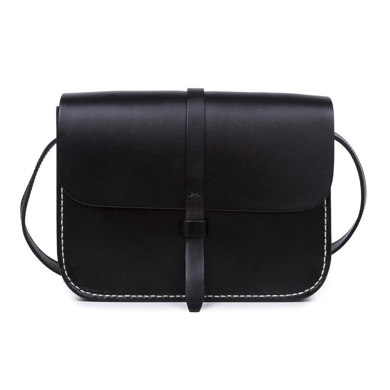 BAIGIO Genuine Leather Women's Crossbody Handbag,Satchel Shoulder Messenger Bag Lady Purse Bag