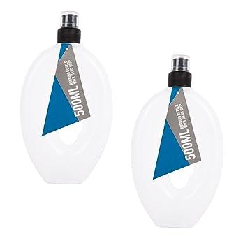 Invero 2 x SET von Sport Getränke Wasser Flasche 500 ml Features ein ...