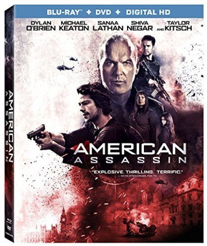 Blu-ray : American Assassin (With DVD, Widescreen, 2 Disc)