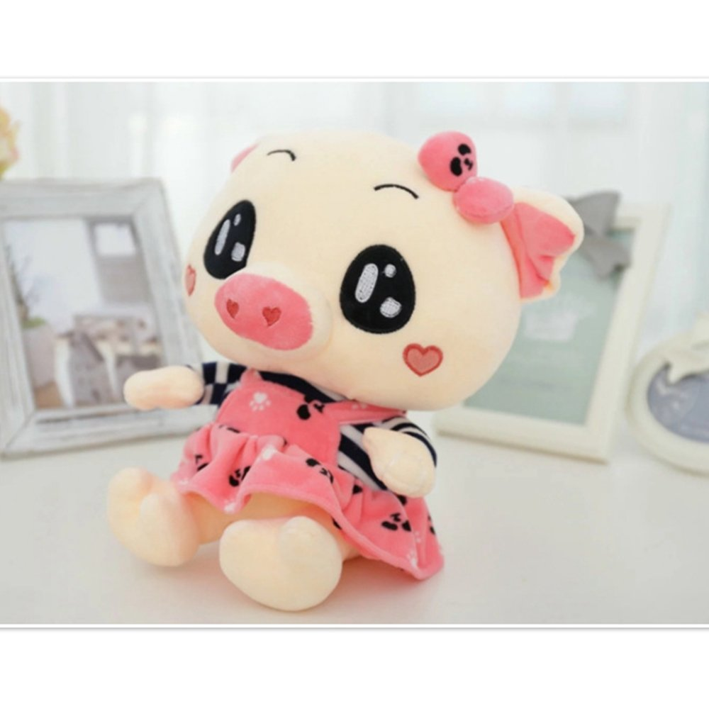 WuKong Pink 11.7''Baby Products Gift Sets Nursery Décor Pig Plush Toy (11.7'', Pink)