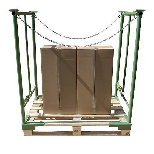 Apilables de sujeción de planchado - Ancho 800 mm, 1 par, altura ...