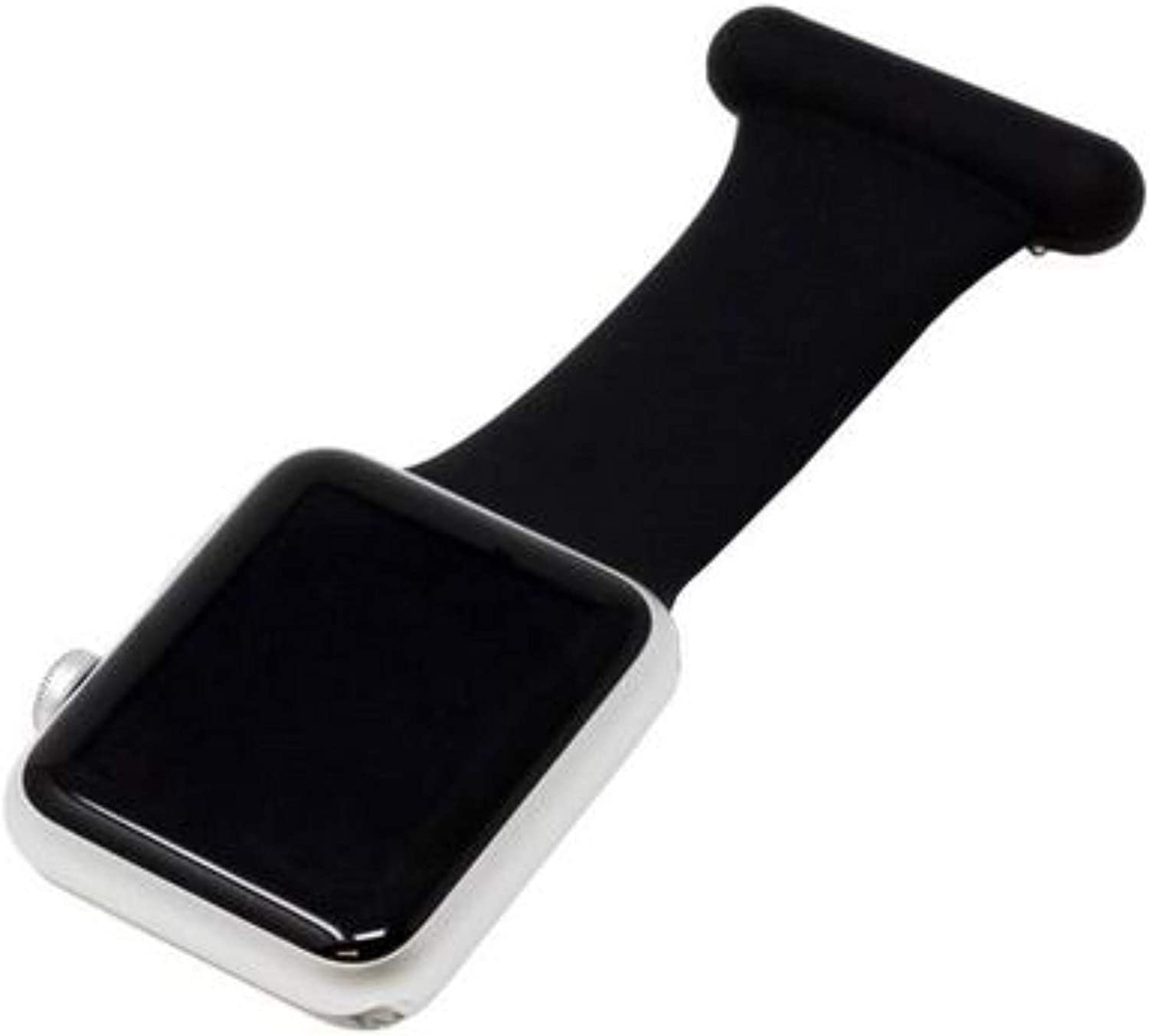 Makzib Fob for Apple Watch for Nurses Midwives Doctors Healthcare Paramedics, Silicone Pin Fob, Infection Control Design Compatible with iwatch Series 6, SE,5,4,3,2,1