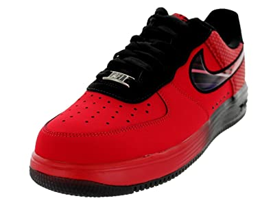 81182e29d6ce nike lunar force 1 LTHR mens trainers sneakers 580383 600 university  chilling red black air force