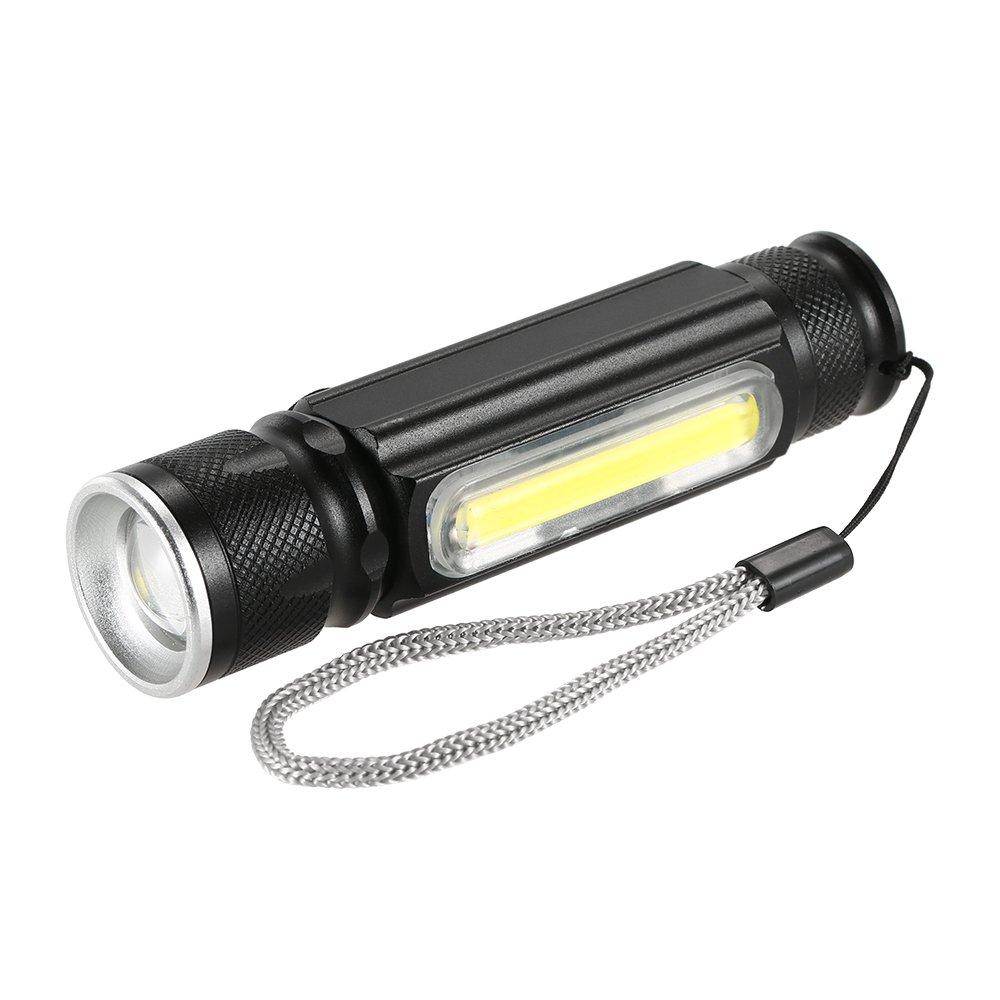 Lixada USB 180LM Linterna con Imán Handy Lampara LED Antorcha Recargable