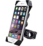 king shine Universal 360 Degree Anti-Shake and Anti-Fall Motorbike Holder for GPS Devices and Moblie Phones