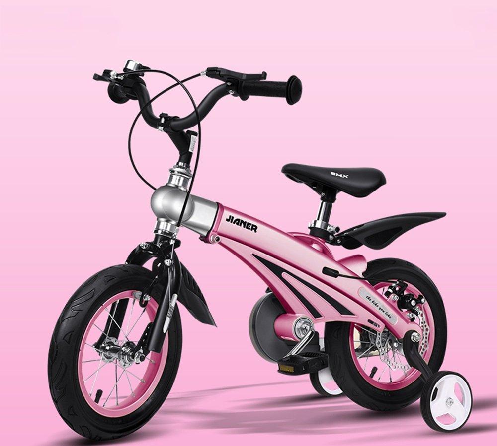 美しい 家子供用自転車、男女用自転車、乳母車、マウンテンバイク、子供用自転車 (色 : ピンク ぴんく, サイズ さいず : 85*38*64cm) B07CXJF7RD 85*38*64cm|ピンク ぴんく ピンク ぴんく 85*38*64cm