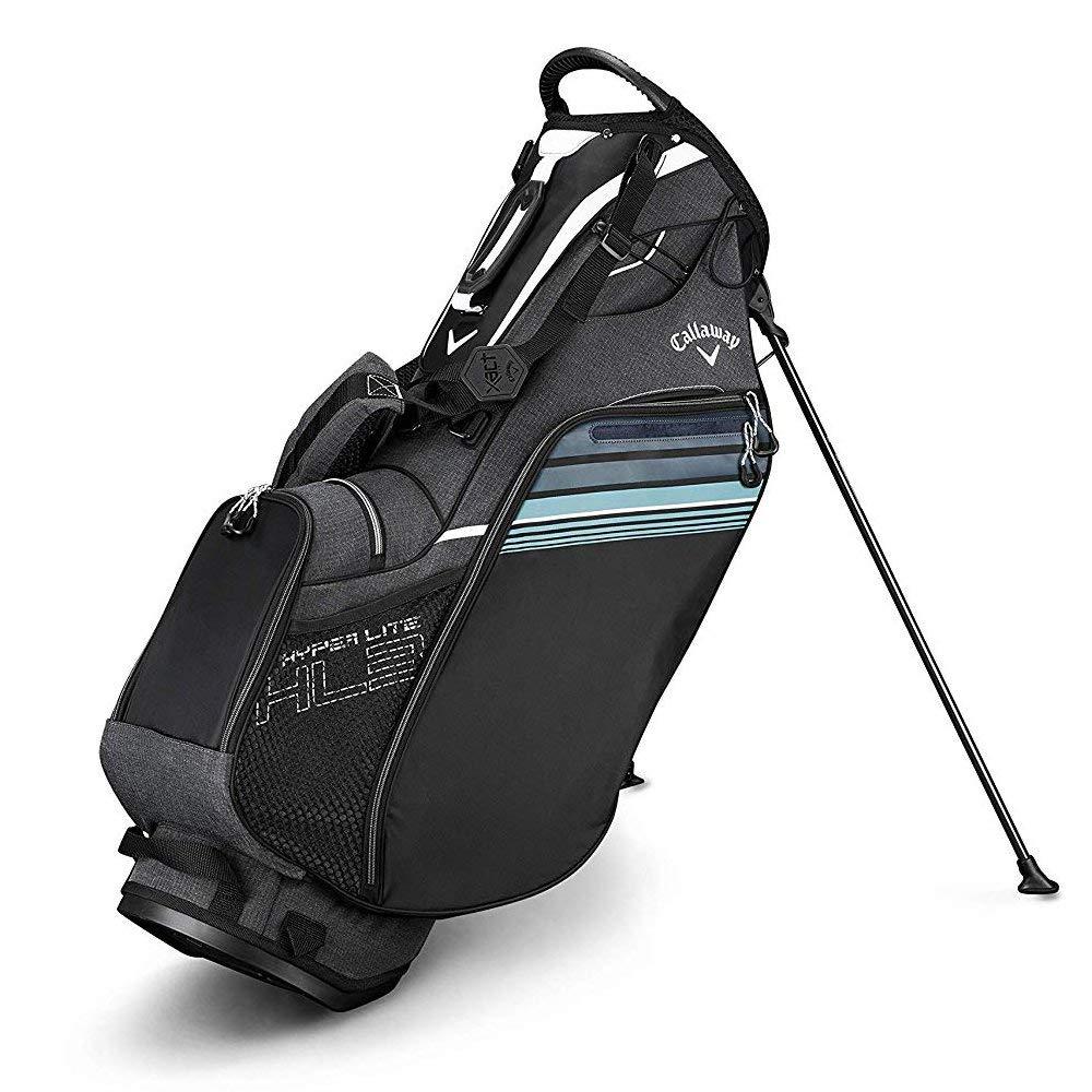 Callaway ゴルフ 2019 ハイパーライト 3スタンドバッグ シングルストラップ ブラック/ホワイト B07KWHHCJG
