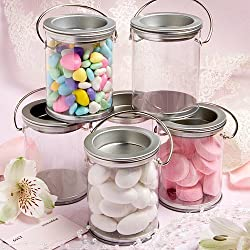 Mini Paint Can Mint Tin Wedding Favors (50 pieces)