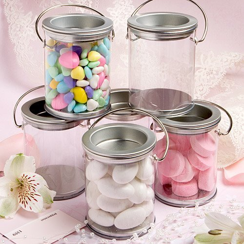Mini Paint Can Mint Tin Wedding Favors (50 pieces) (Mini Favor Tins)