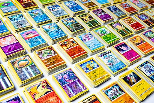 20 Pokemon Cards - No Duplicates - 2 Rare Pokemon Cards + 2 Holo Shiny Pokemon Cards Included - Special Pokemon TCG Packs -2 Custom Pokemon Packs - Blazing Card Sticker