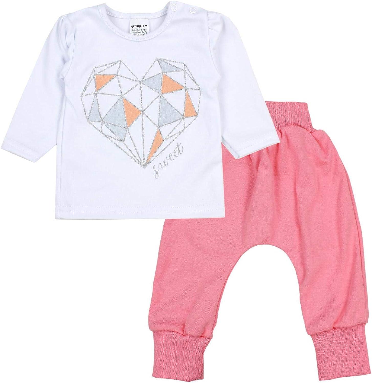 TupTam Completini di Vestiti per Bambina Neonati