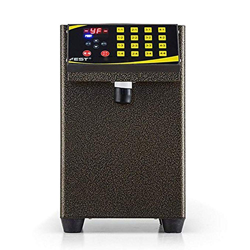 Amazon.com - LOSITA 110V Full Stainless Steel Syrup Dispenser, Fructose Dispenser, Bubble Tea Equipments, Fructose quantitative Machine (Color: Black) -