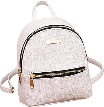 Women Girls Backpack PU Leather Rucksack Shoulder School Bag College Bag