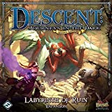 Fantasy Flight Games Descent Second Edition Expansion Labyrinth of Ruin