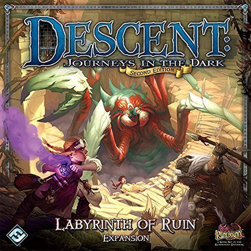 Fantasy Flight Games Descent: Journeys in the Dark 2nd Edition - Labyrinth of Ruin Expansion -