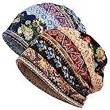 Jemis Skullies Beanies Thin Bonnet Cap Autumn Casual Beanies Hat (2 Pack)