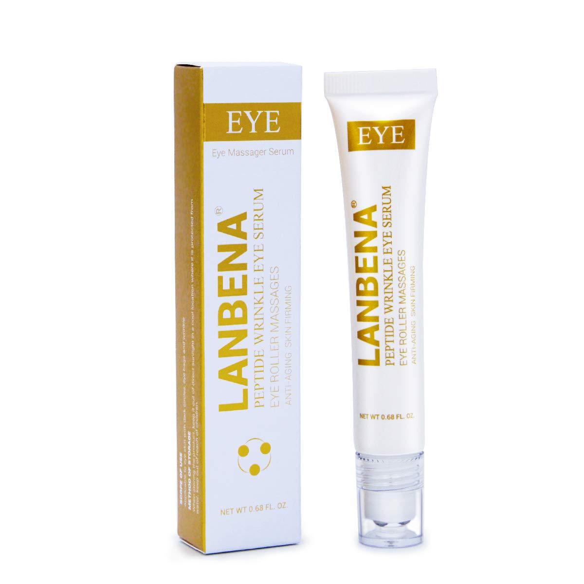 Wrinkle and dark circle eye cream,LKE Puffiness Treatments Dark circles under eye treatment anti aging moisturizer skin care tools