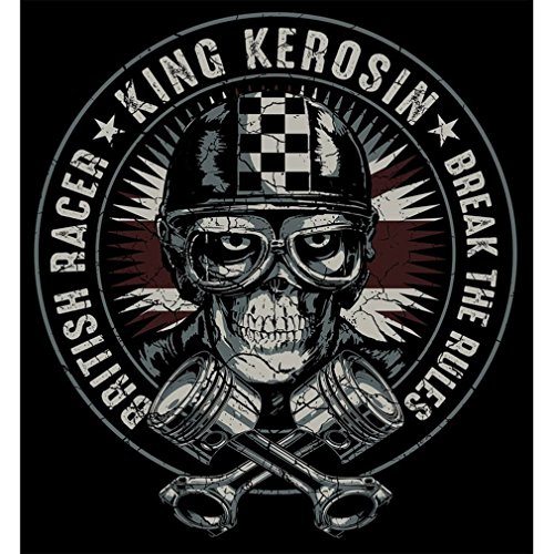 King Kerosin Maglietta T-Shirt - Hell Racer