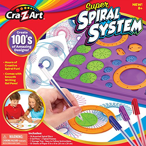 - Cra-Z-Art Super Spiral System Set