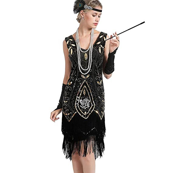 1920s Plus Size Flapper Dresses Gatsby Dresses Flapper Costumes