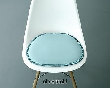 Wunderbar BATUDO Hochwertige Sitzauflage/Sitzkissen Aus 100% Wollfilz Für Vitra Stuhl  Eames Plastic Side Chair