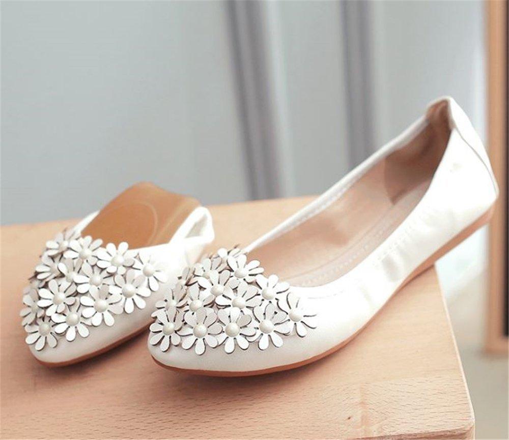 homme / femme labiti taille grande taille labiti des ballerines repliables chaussures occasionnel plat danse egg roll des chaussures robustes et élégants emballage plus pratique d'utiliser nv8826 425752