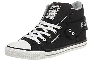 British Knights ROCO BK women trainer Sneaker B37-3702-01 black, shoe size:EUR 41