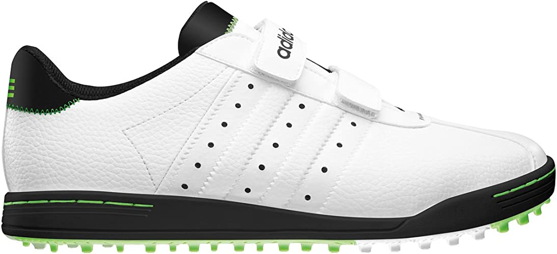 Antecedente Arte Paraíso  Adidas Adicross II Run Men's Velcro Spikeless Golf Shoes (wide) (White,  12): Amazon.co.uk: Shoes & Bags