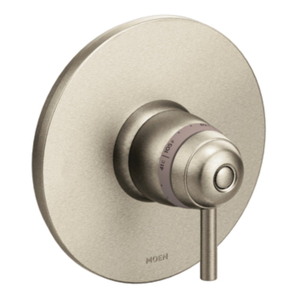 Moen TS33002BN Arris ExactTemp Thermostatic Trim Kit, Valve Required, Brushed Nickel by Moen