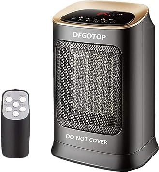 DFGOTOP Mini Calefactor Eléctrico Cerámico Baño, Calefacción Eléctrica Silenciosa Bajo Consu...