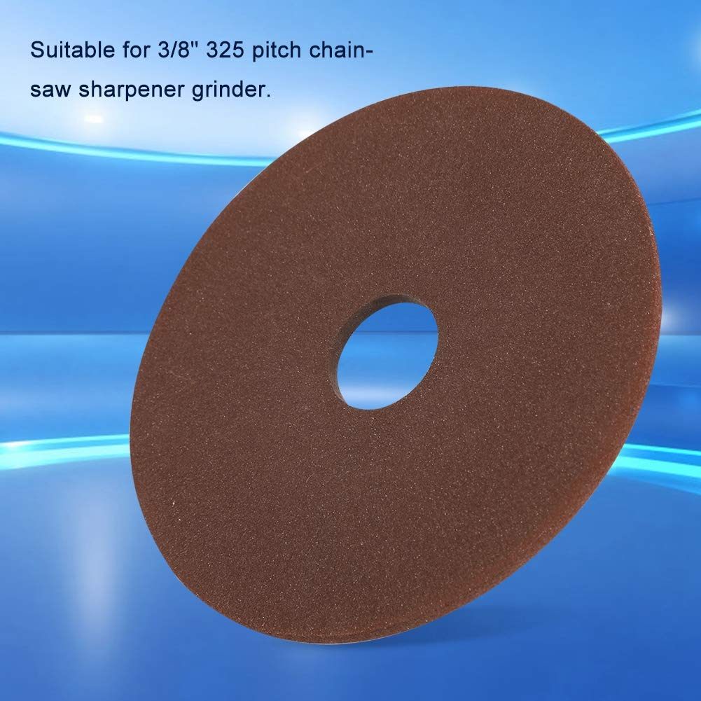 outil de meulage de disque /à lamelles Disque de meule 105 mm x 22 mm pour meule de tron/çonneuse /à pas tranchant de 325 po