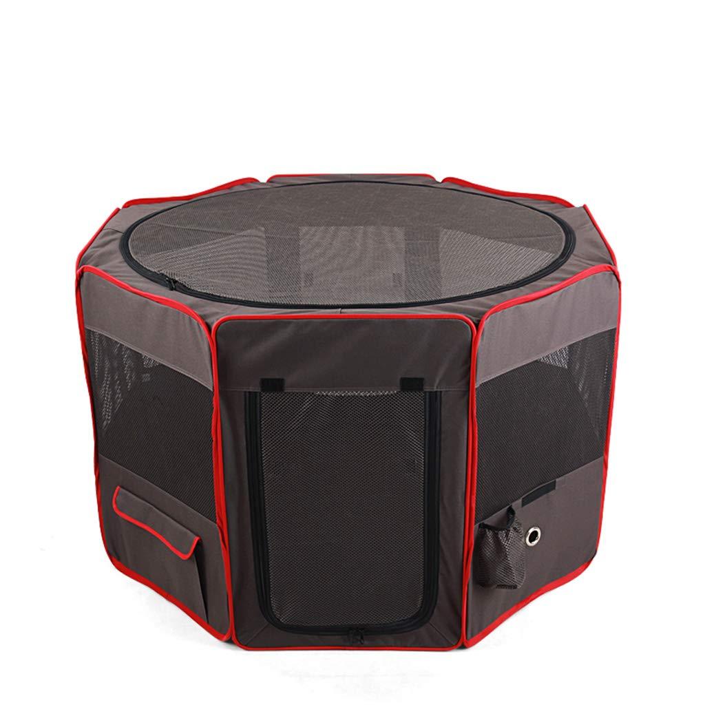 L QIQI Dog Tent Pet Playpen Cat Dog House Portable Pet Fence Dog Supplies (Size   L)