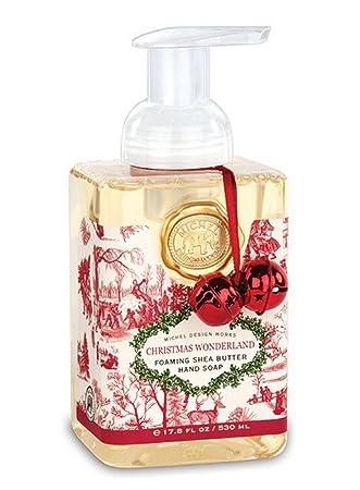 Amazoncom Christmas Wonderland Foaming Hand Soap 178 Oz Michel
