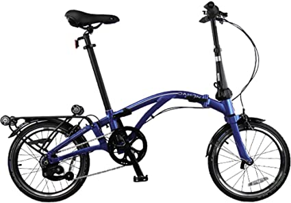 Dahon Curl i8 - Bicicleta Plegable, Color Azul: Amazon.es ...