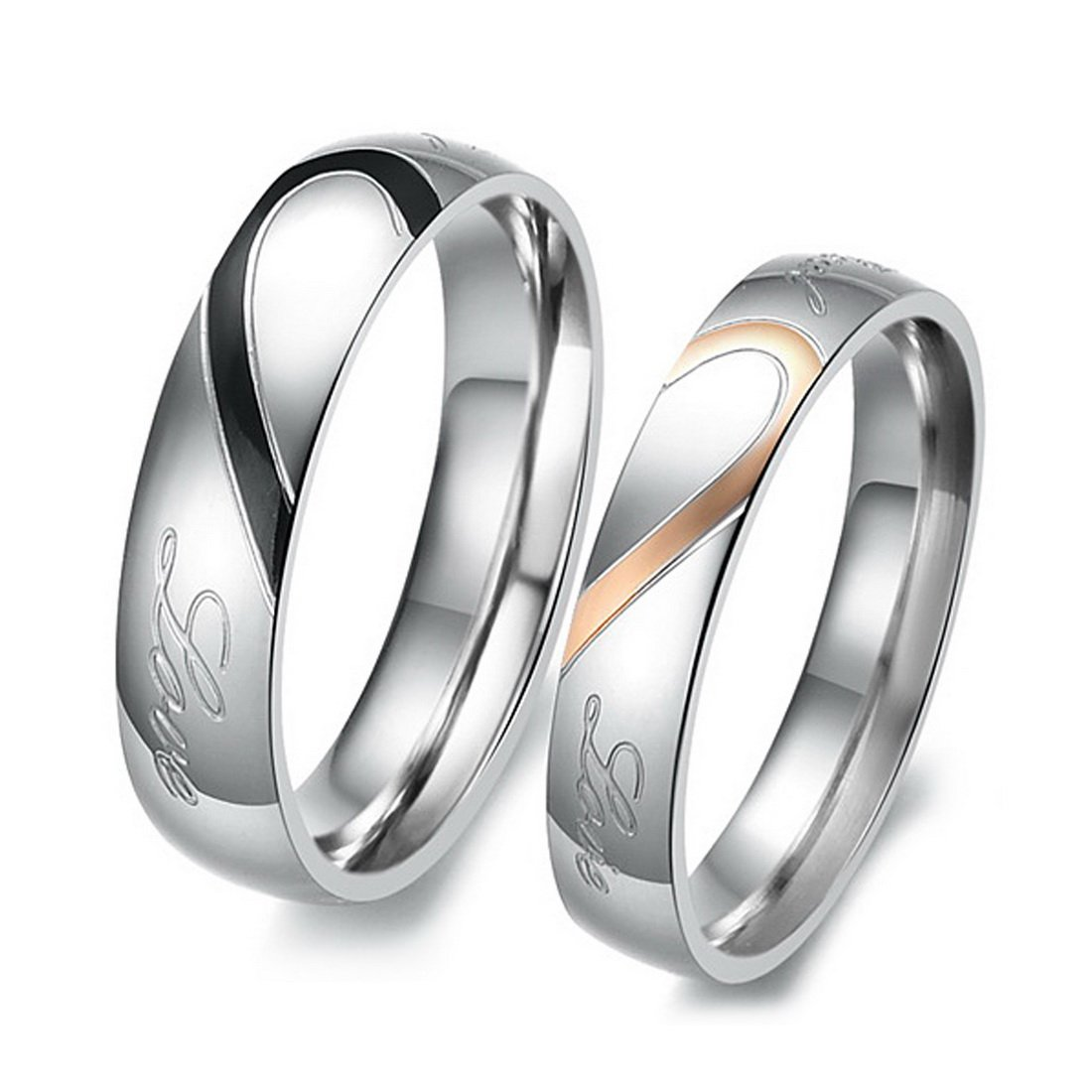rings couple set fullxfull engagement gold listing wedding bands unique il zoom matching au