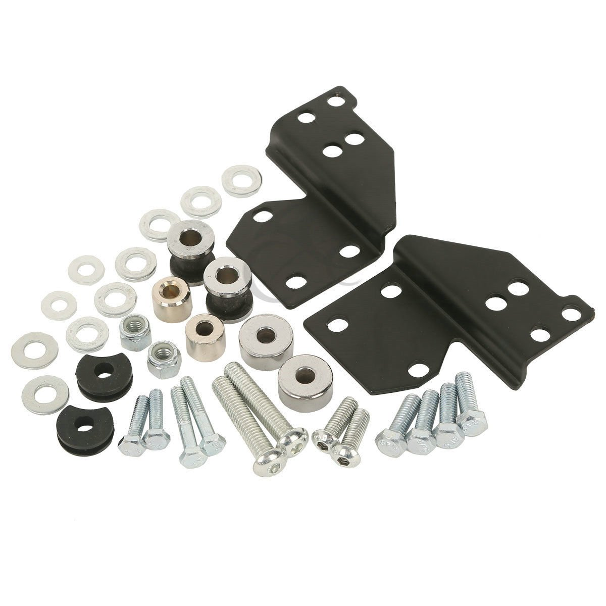 TCMT Detachables Front Docking Hardware Kit For Harley Road King Electra Glide 1997-2008 Replace 53803-06
