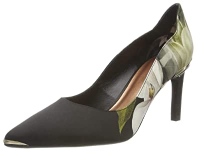 MELNIP Printed High Heel Court Shoe black | Dune London
