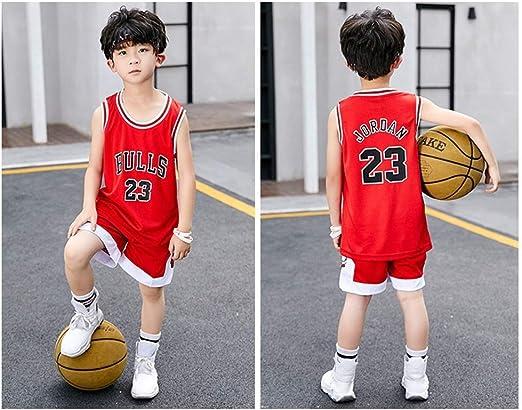 HSWU-DRESS Jersey De Niño NBA Chicago Bulls Michael Jordan # 23 ...