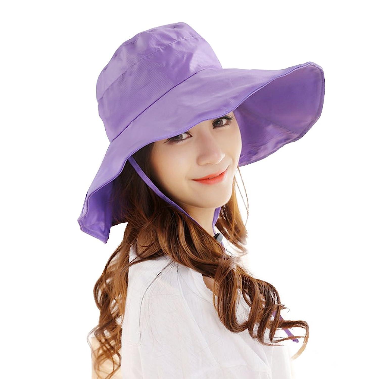 95d6fa97f4e35 Details about Women s Rain Hats Waterproof Rain Hat Wide Brim Bucket Hat  Rain Cap Sun Hats