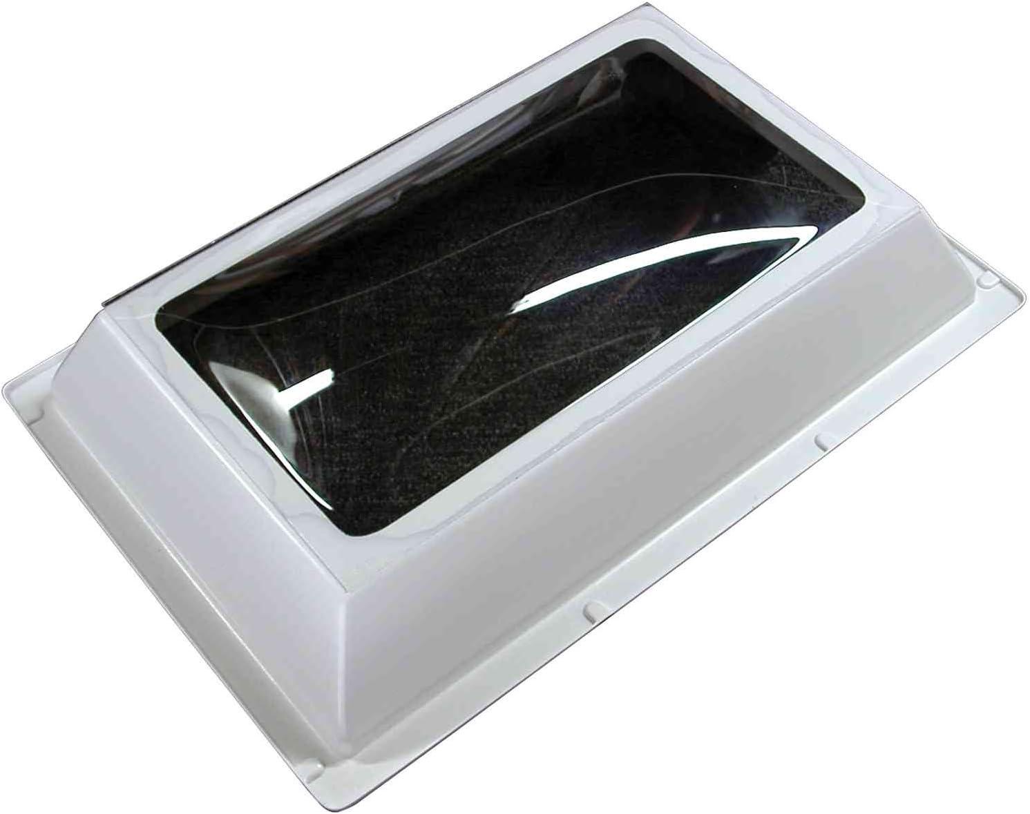 Bri-Rus SL1422S 14X22 Rectangle Smoked Skylight//Inner Garnish