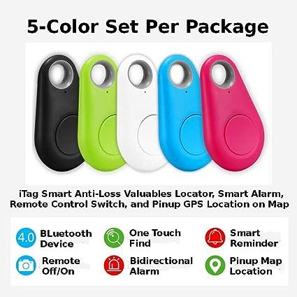 Amazon com: Smart iTag Tracker Locator, 5-Piece / Set of 5