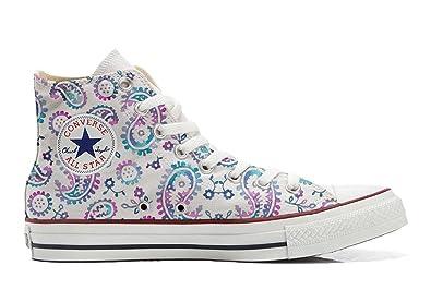 Converse All Star personalisierte Schuhe (Handwerk Produkt) Watercolor  37 EU