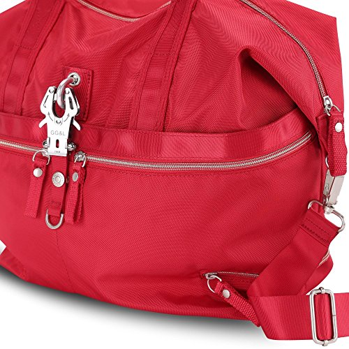 George Gina & Lucy Borsa Messenger, Rot (rosso) - 26409