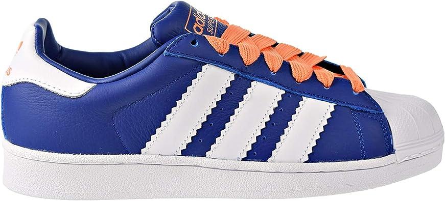 adidas superstar orange blue