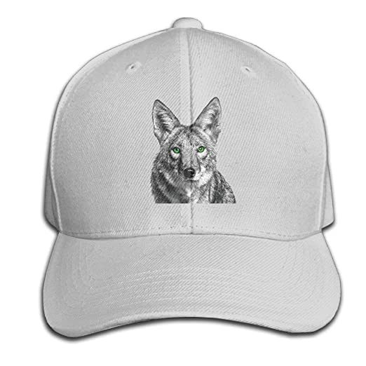 Hhaj Green Eyed Coyote Baseball Cap Unisex Fishing Caps Peaked Hat Black at  Amazon Men s Clothing store  7049620baae